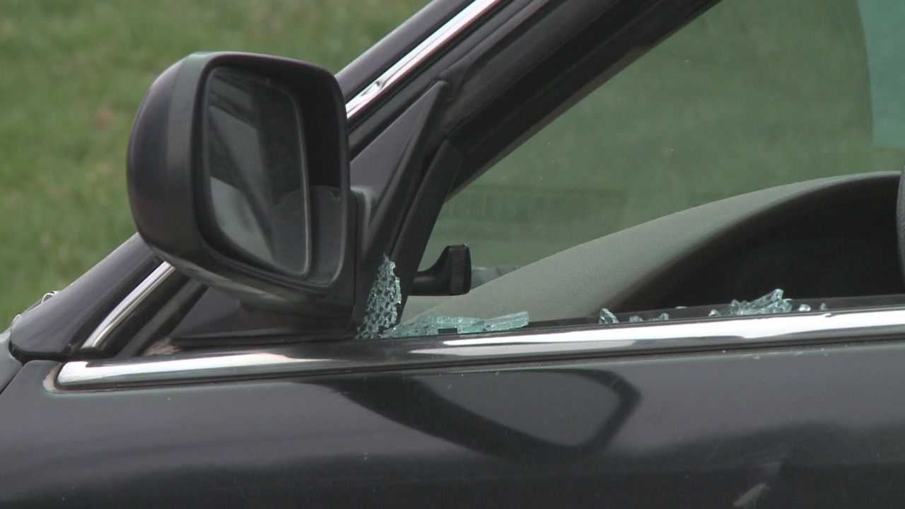 Many woke up over the weekend and found their car windows smashed.