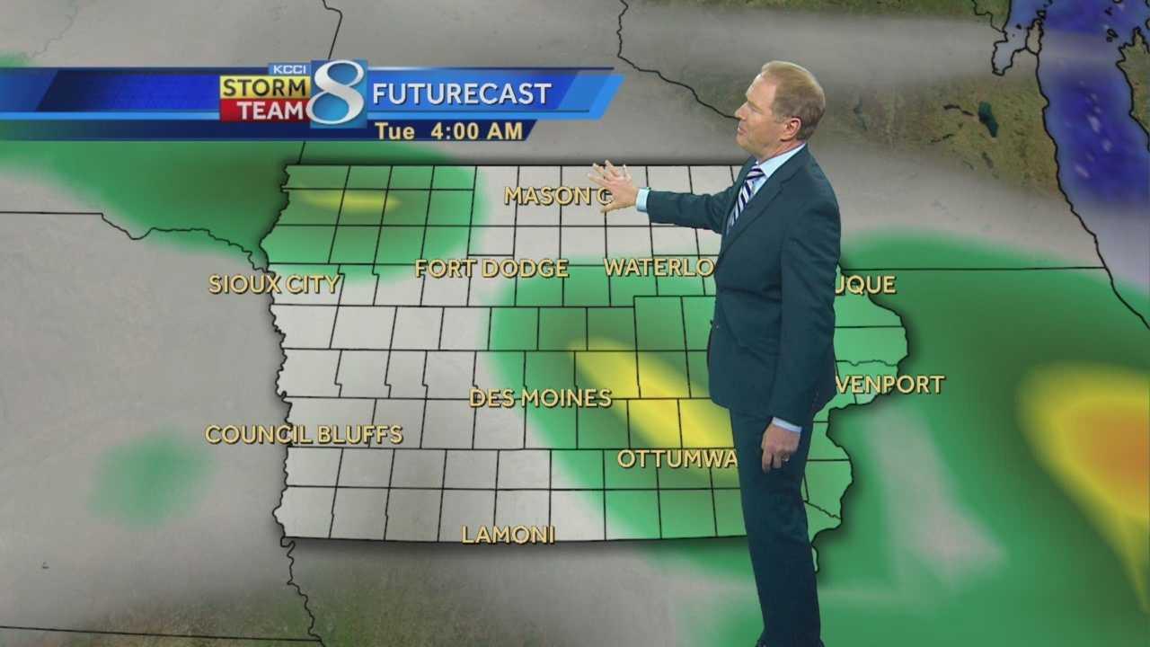 KCCI 8 Meteorologist Kurtis Gertz' forecast for Iowa.