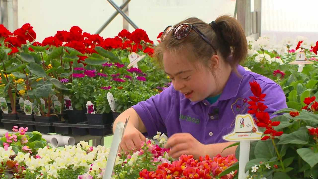 This Mother's Day weekend, something else is growing in a Marion County greenhouse run by a 20-year-old.