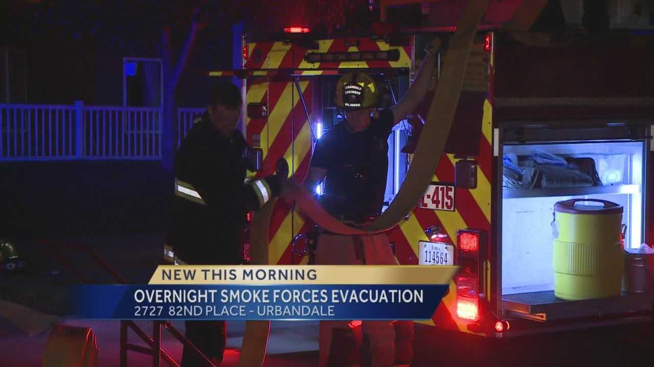 An overnight furnace problem at a senior home forced residents to evacuate.