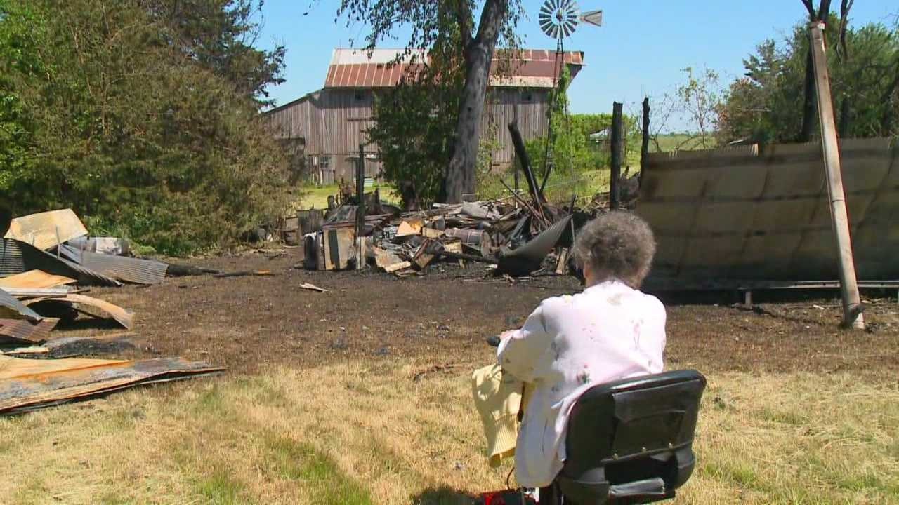 An Iowa woman planned to sell her antiques to help pay for medical bills, before a fire destroyed them.