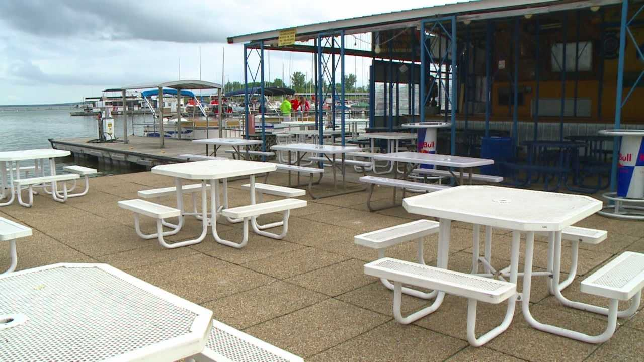 It's been a rainy Memorial Day weekend for many in central Iowa, which has left a huge impact at a local marina.