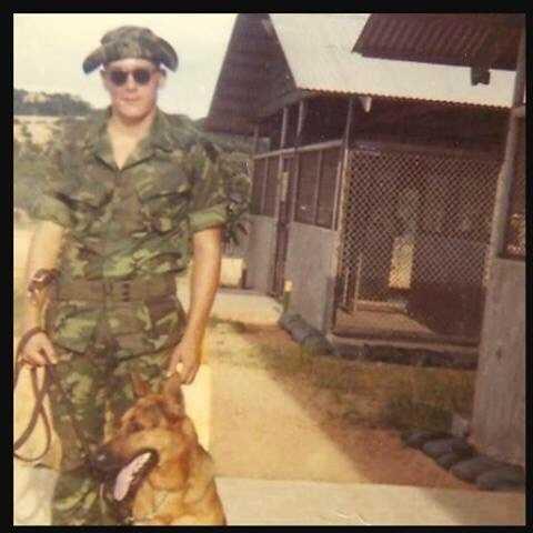 Bill Smith in Vietnam.