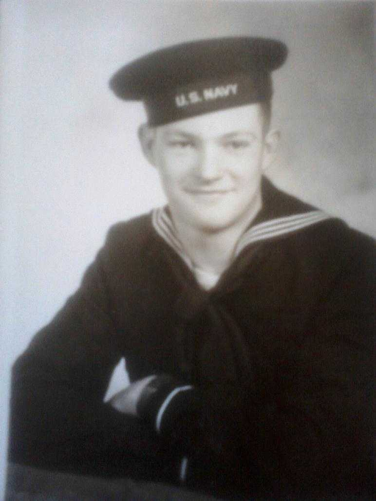 George England, of Oskaloosa, served in WWII.