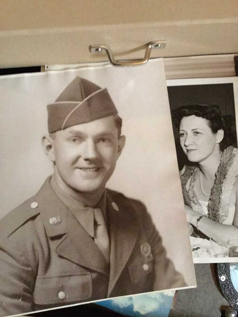 Tony Zagar, 101st Airborne Division, 401st Glider Infantry Regiment, lost in Battle of the Bulge, January 9, 1945.