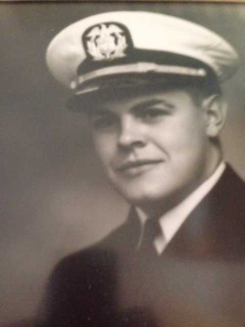 William Joseph Robinson served in the Merchant Marines on ships running the Murmansk run. He then became a Navy Lt.