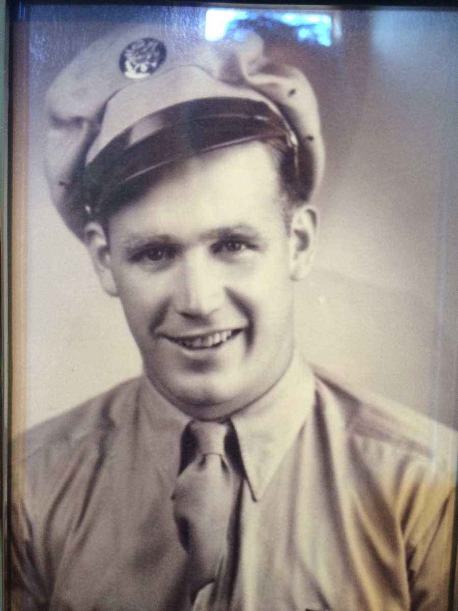 Wayne McKinney Sr., of Colo, served in Normandy on D-Day in WWII.