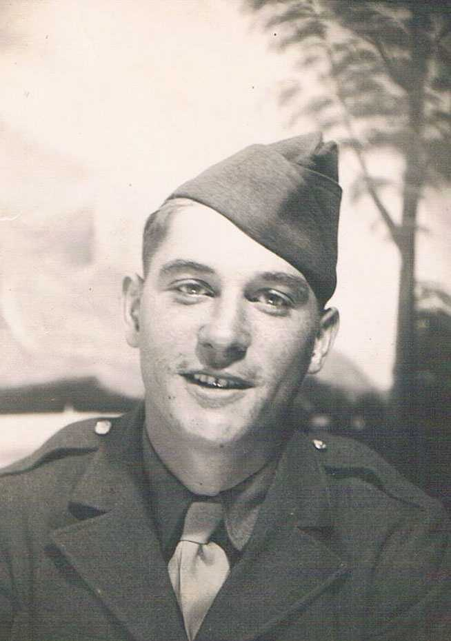 Walter Jaworski, of Des Moines, joined the U.S. Army when he was 18.