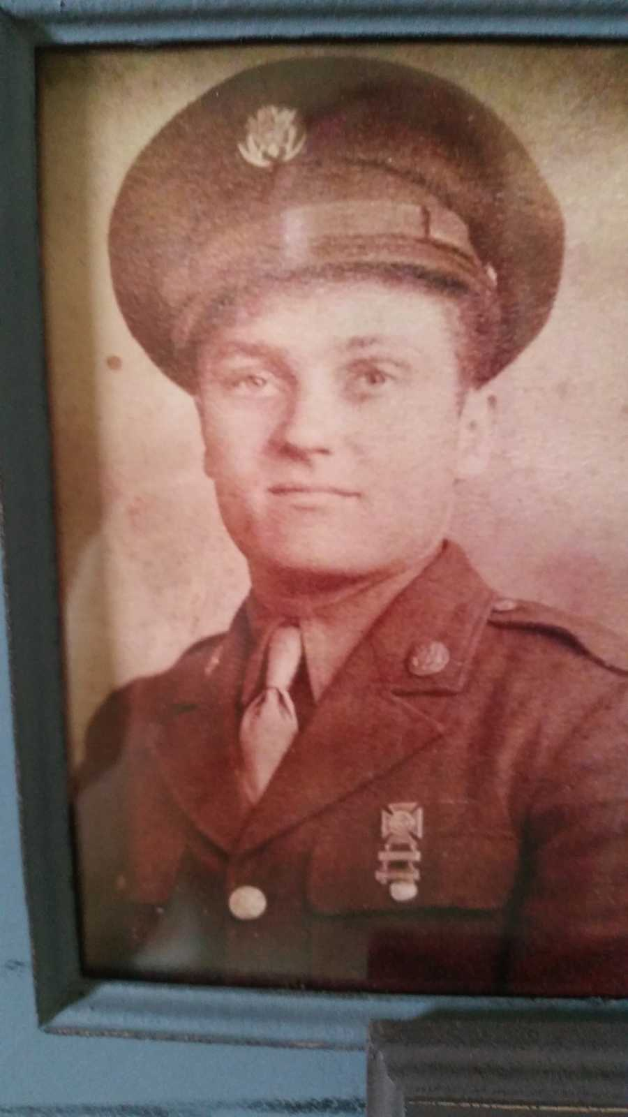 Harold P. Brauckman served in Germany during WWII.