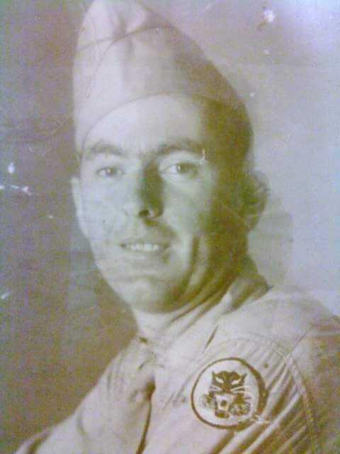 Charles Barton Ball served in Belgium during World War II.