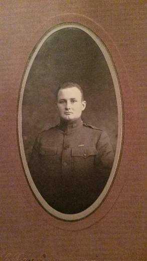 Samuel Holland, Army veteran, World War I.