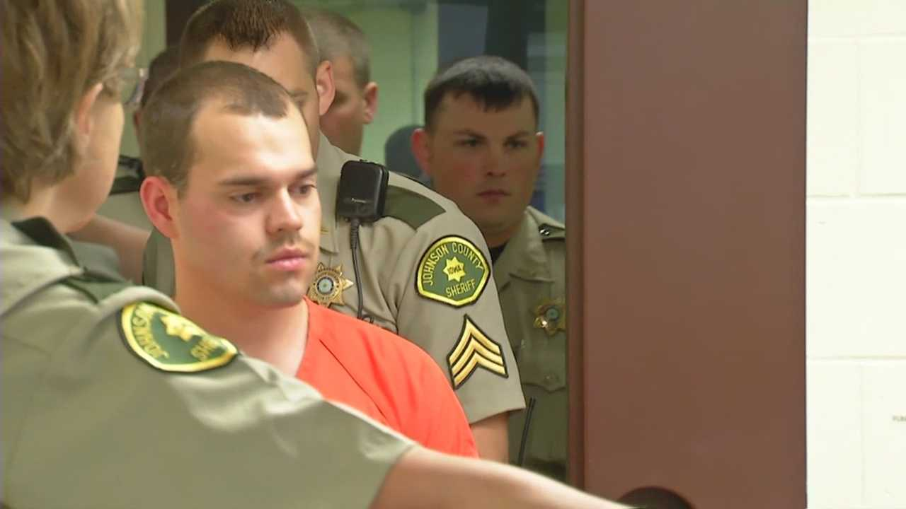 Alexander Matthew Kozak appeared in front of a Johnson County judge.