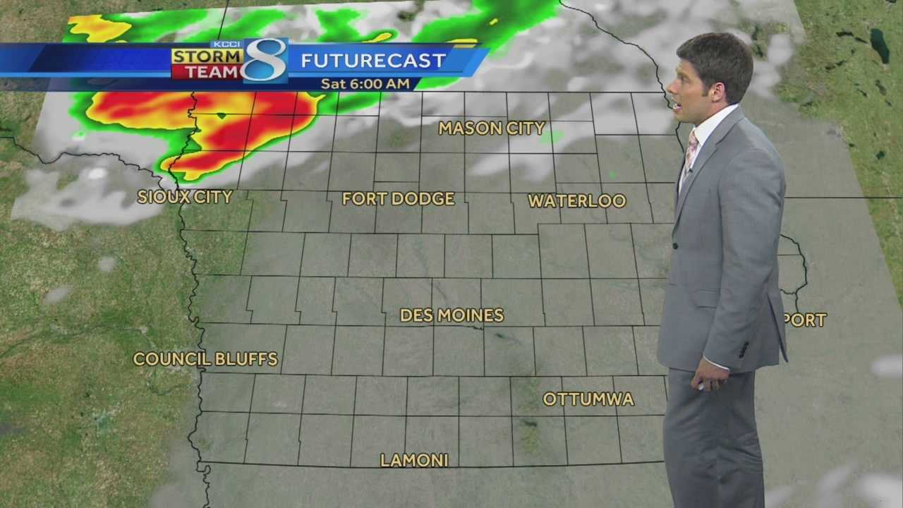 KCCI 8 Meteorologist Jason Sydejko's forecast for Iowa.