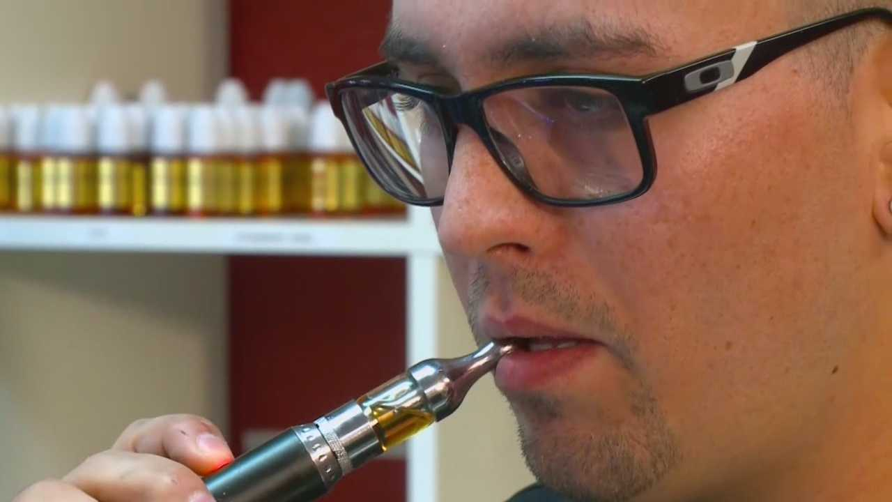 As vaping becomes more popular, Ames is considering banning its use in public places.