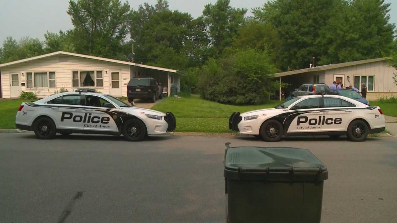 Ames police are investigating an armed robbery at a home Tuesday just a day after another armed robbery was reported at an apartment.