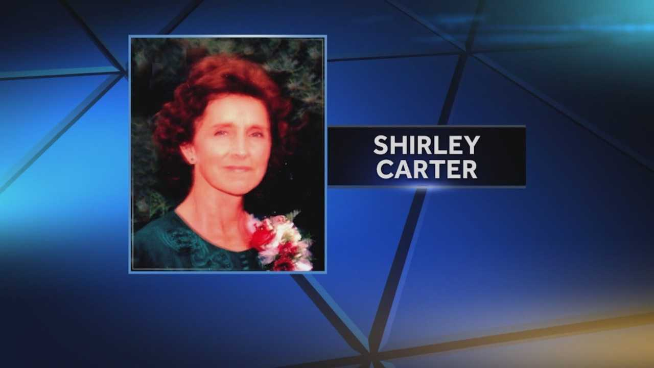 Shirley Carter was shot with a rifle and police have multiple persons of interest in the case.