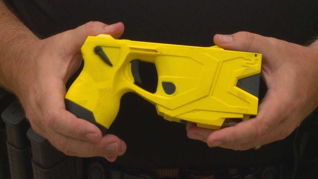 Police hope to raise money to buy a police car by selling raffle tickets to fire at Taser at a city official.