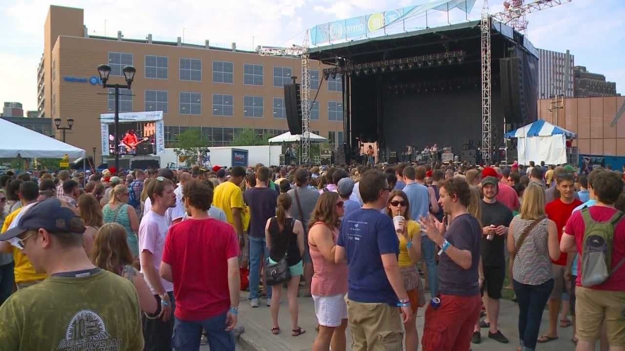 This is the eighth year the 80/35 Music Festival has brought thousands of music fans to downtown Des Moines.
