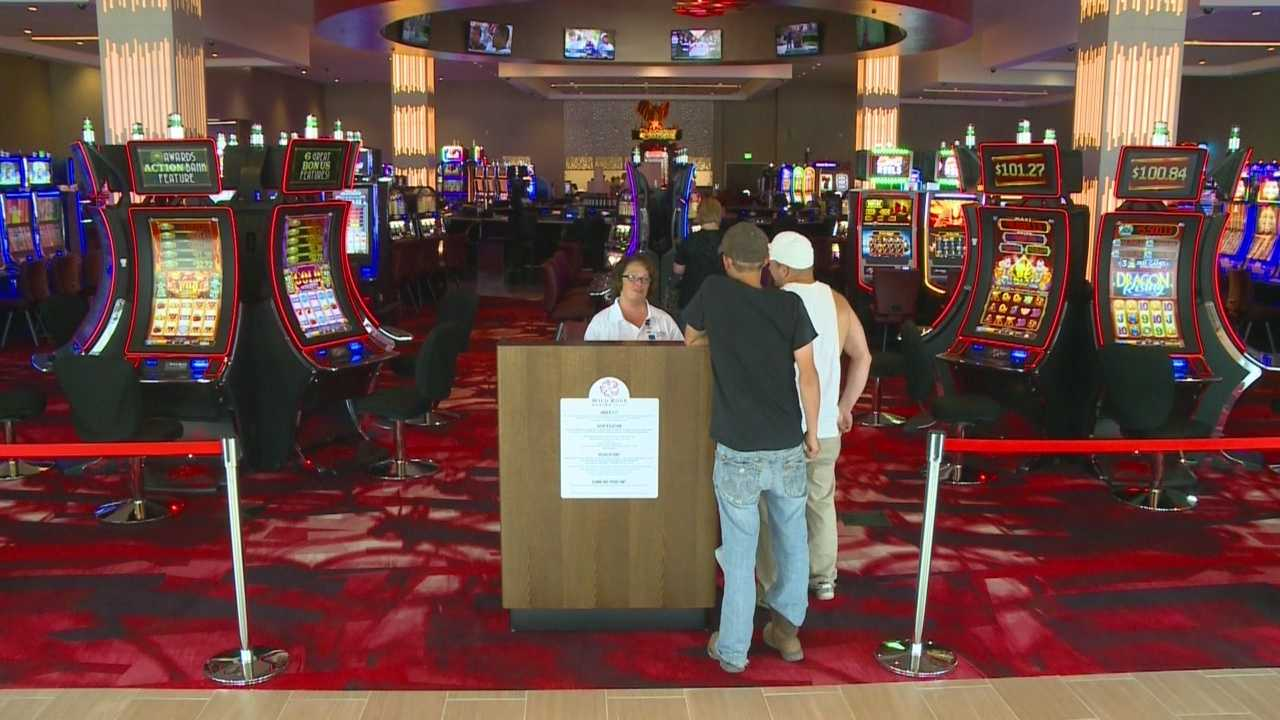 The Wild Rose Casino is now open with a grand opening planned in early August.