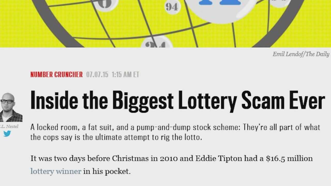 The Eddie Tipton trial has started to make national waves, commentators calling it the biggest lottery scam ever.