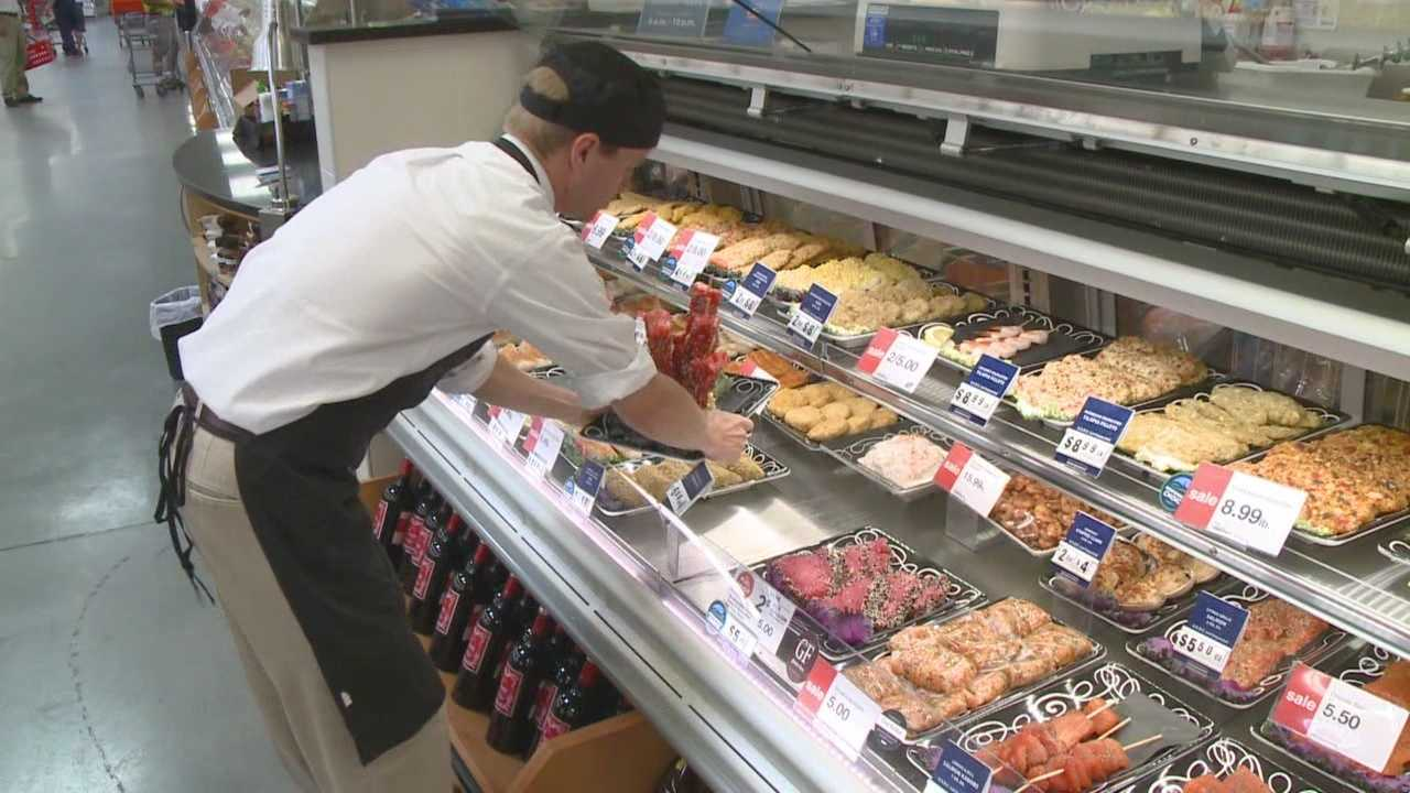 A local grocery store chain is being praised for its efforts to provide good quality and sustainable seafood to its customers.