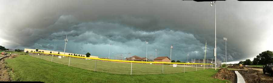 Sports Complex off Meredith Drive in Urbandale.