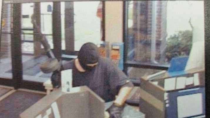 A credit union robbery in Mason City. The FBI now believes the man may be the AK-47 Bandit.