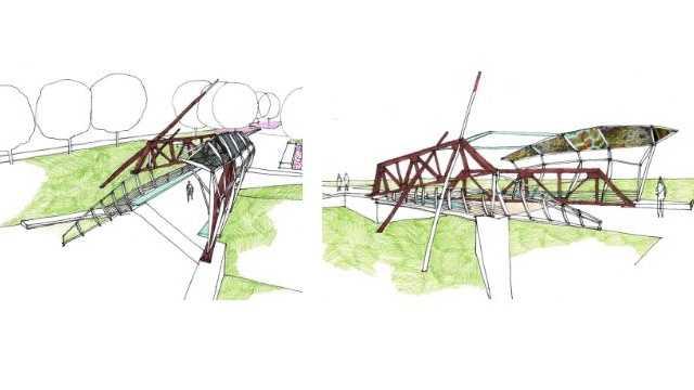 New feature bridge planned in Bridge District