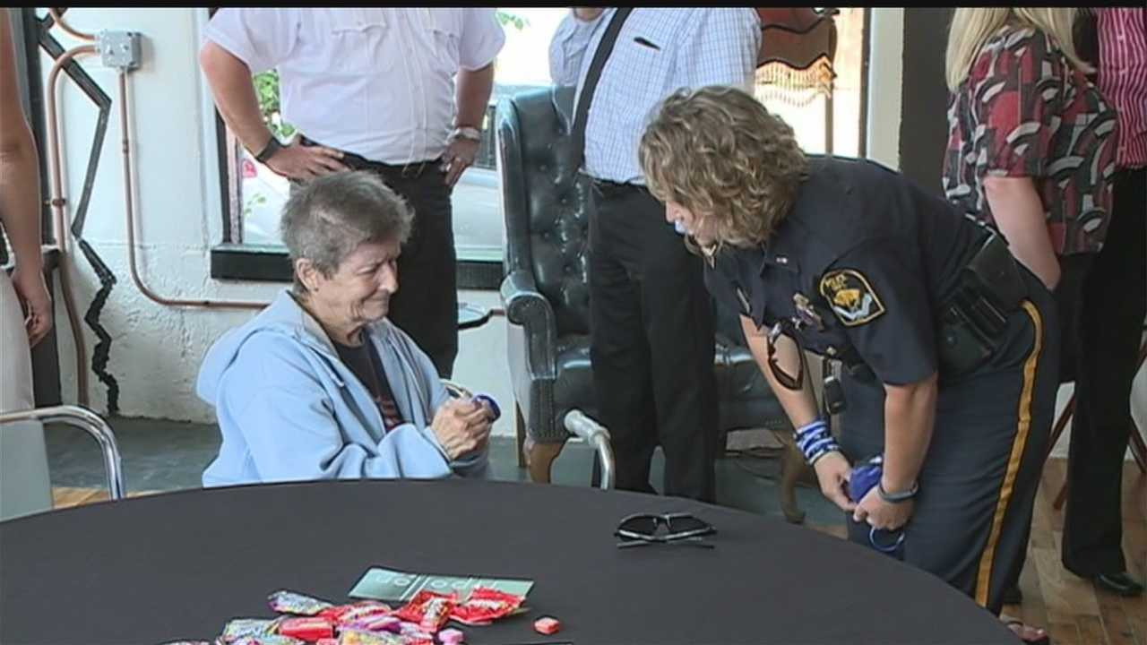 Thousands celebrated National Night Out Tuesday, and an Omaha effort to support blue is about to get national exposure in front of first responders.