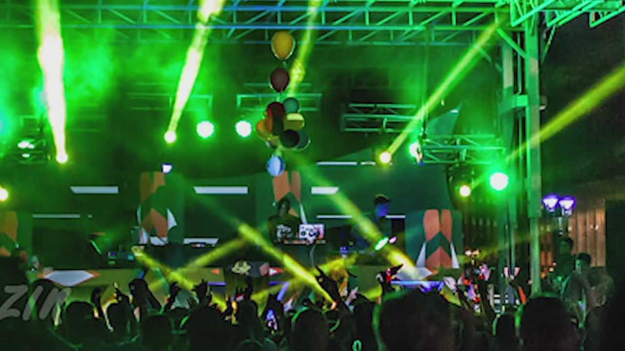 The event features hip-hop artists and electronic dance music DJ's and attracted a crowd of 5,000 people last year.