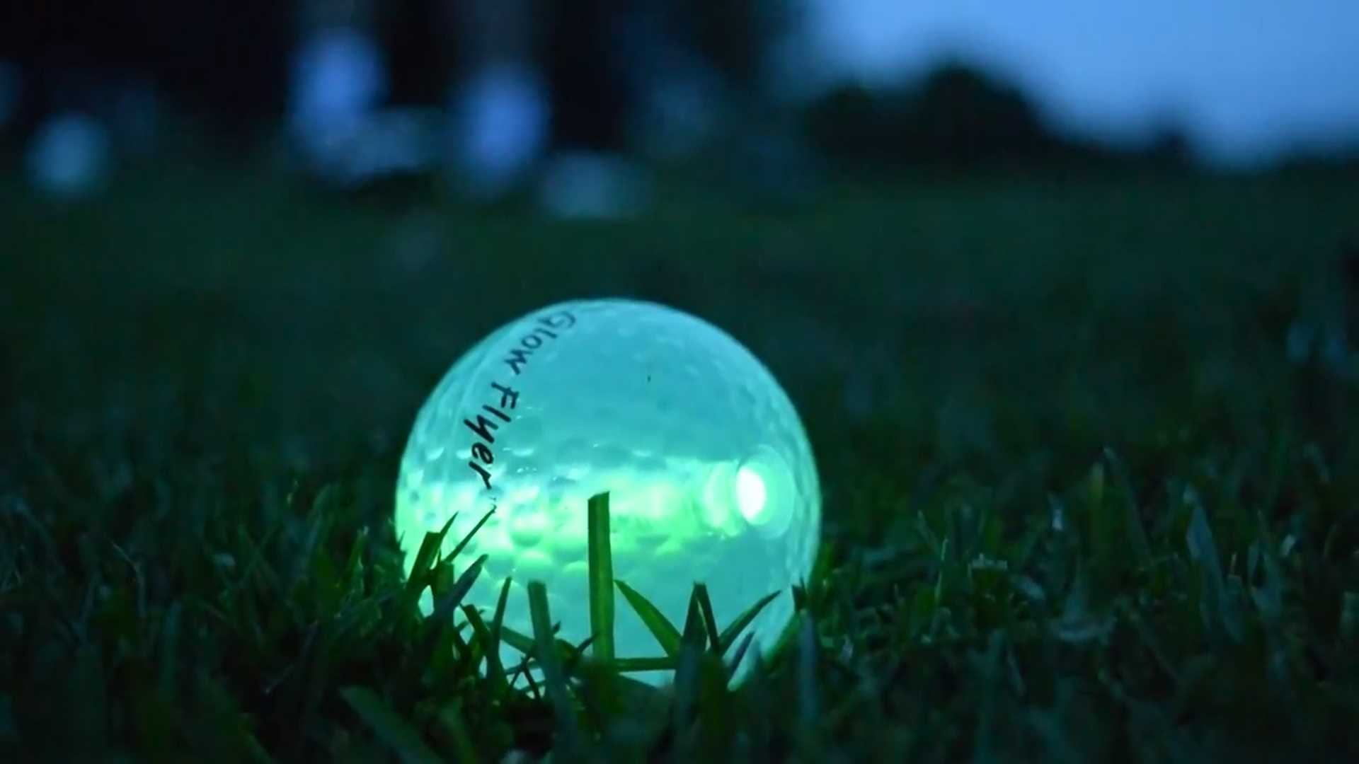 Here's your chance to golf at night, and raise money at the same time.