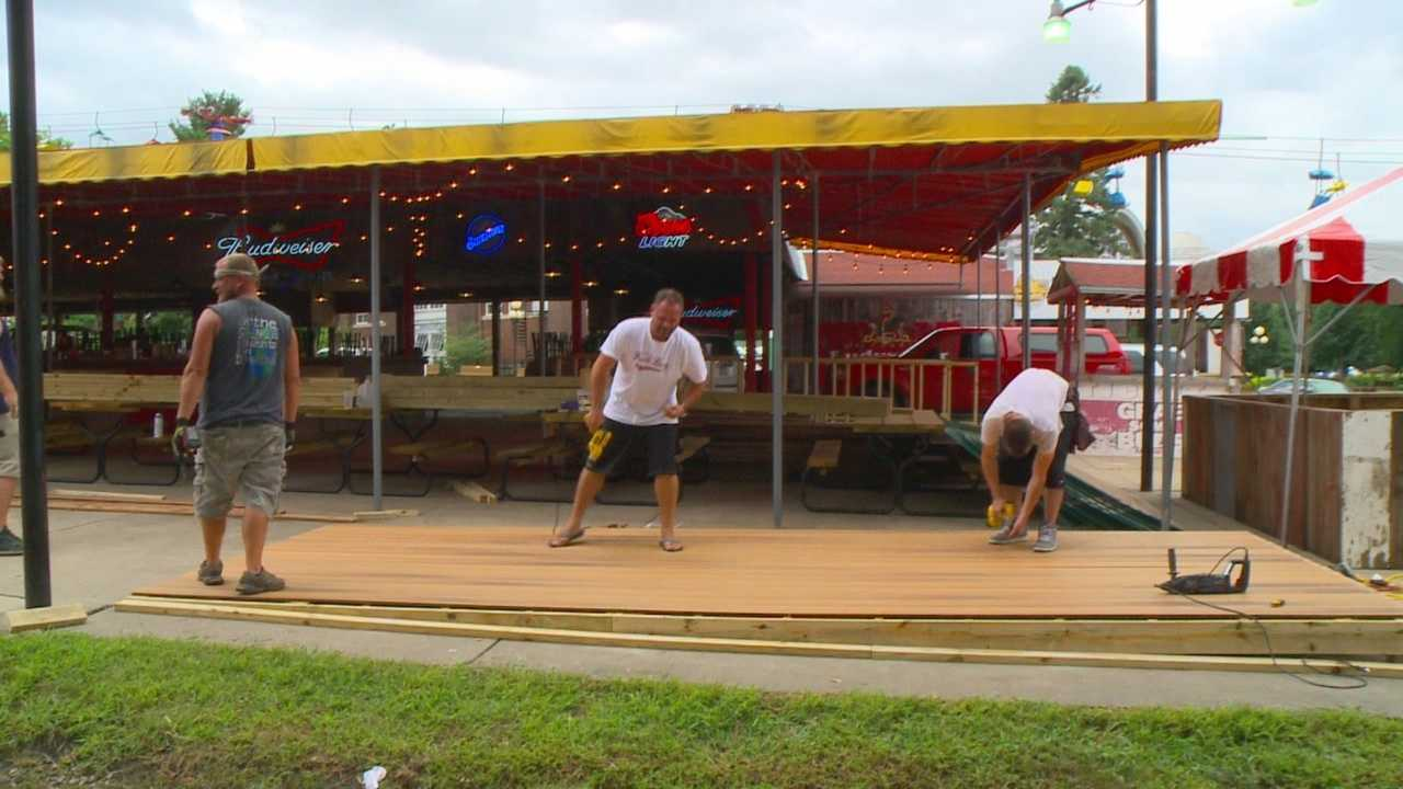 The Iowa State Fairgrounds have been crawling with people who are working to get ready for the 2015 Iowa State Fair.