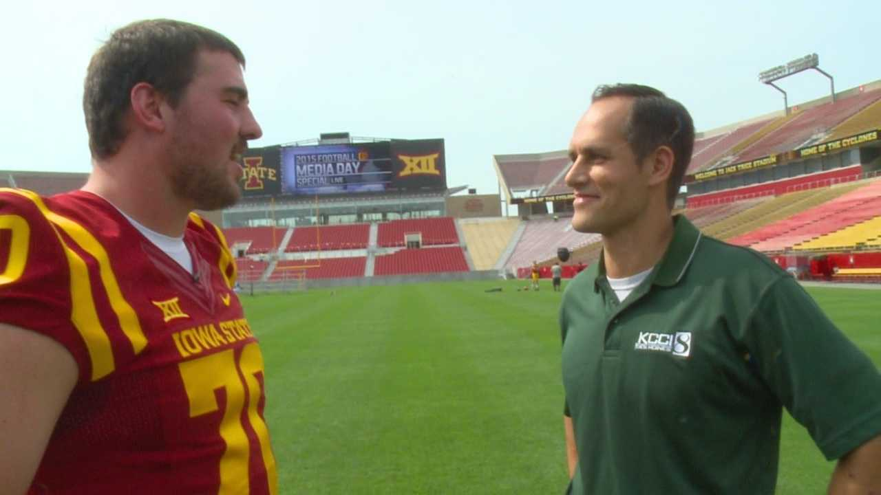 They've heard it all before. They know what's coming. So who needs the questions anyways? Scott Reister decides to save some time and interview a Cyclone without saying a word.