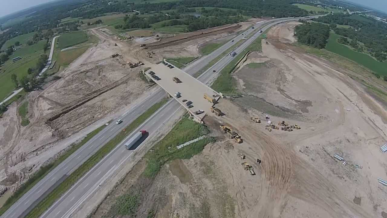 Construction crews are close to finishing a major construction project in Waukee that will help commuters get to work faster.