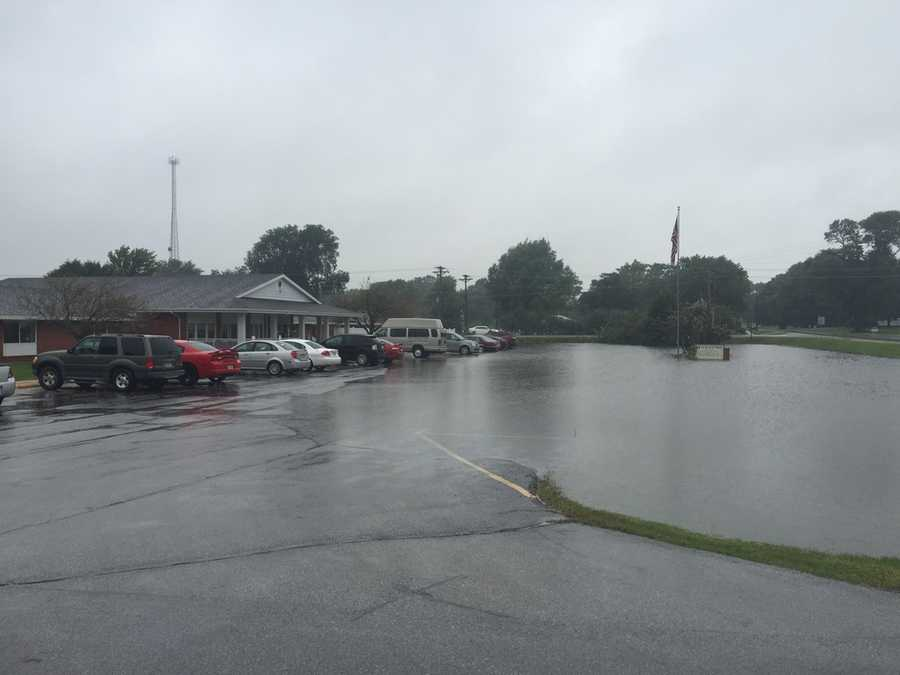 Flooding in Stratford, Iowa.