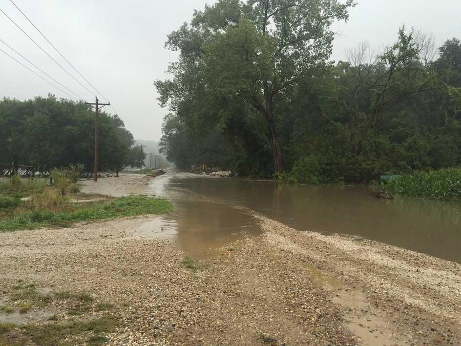 Skillet creek road near Dayton, Iowa.