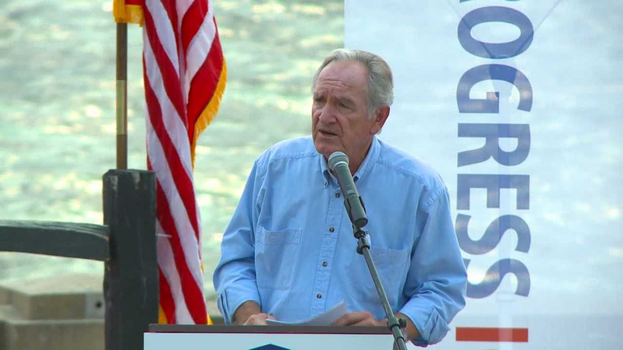 The event, hosted by Progress Iowa, featured politicians, like Texas Rep. Joaquin Castro and former Sen. Tom Harkin, and also ice cream entrepreneurs from Vermont.