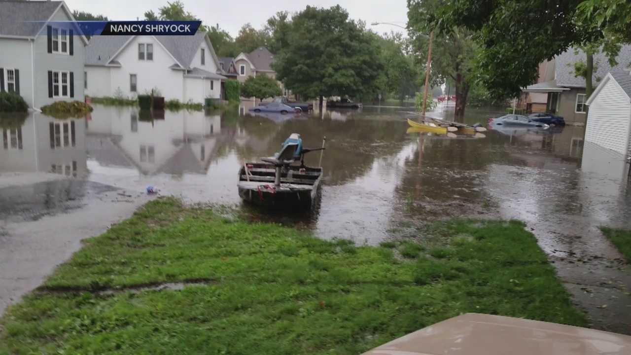 A massive clean-up effort is underway in north Central Iowa after flash flooding caused damage over the weekend.