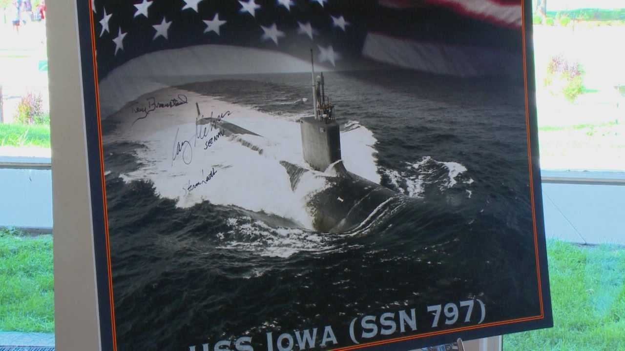 At a ceremony at Iowa State, the Navy continued their tradition.