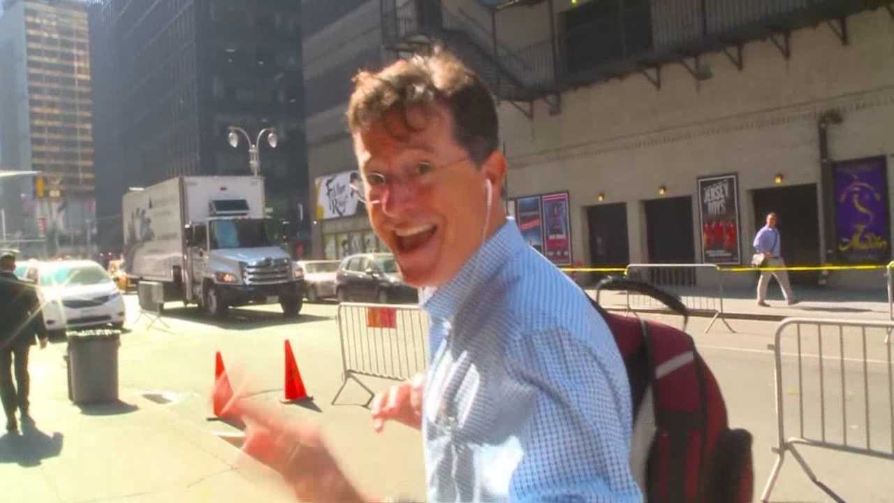"""""""The Late Show with Stephen Colbert"""" debuted Tuesday night, and judging by the audience members who spoke with KCCI, it was a big hit."""