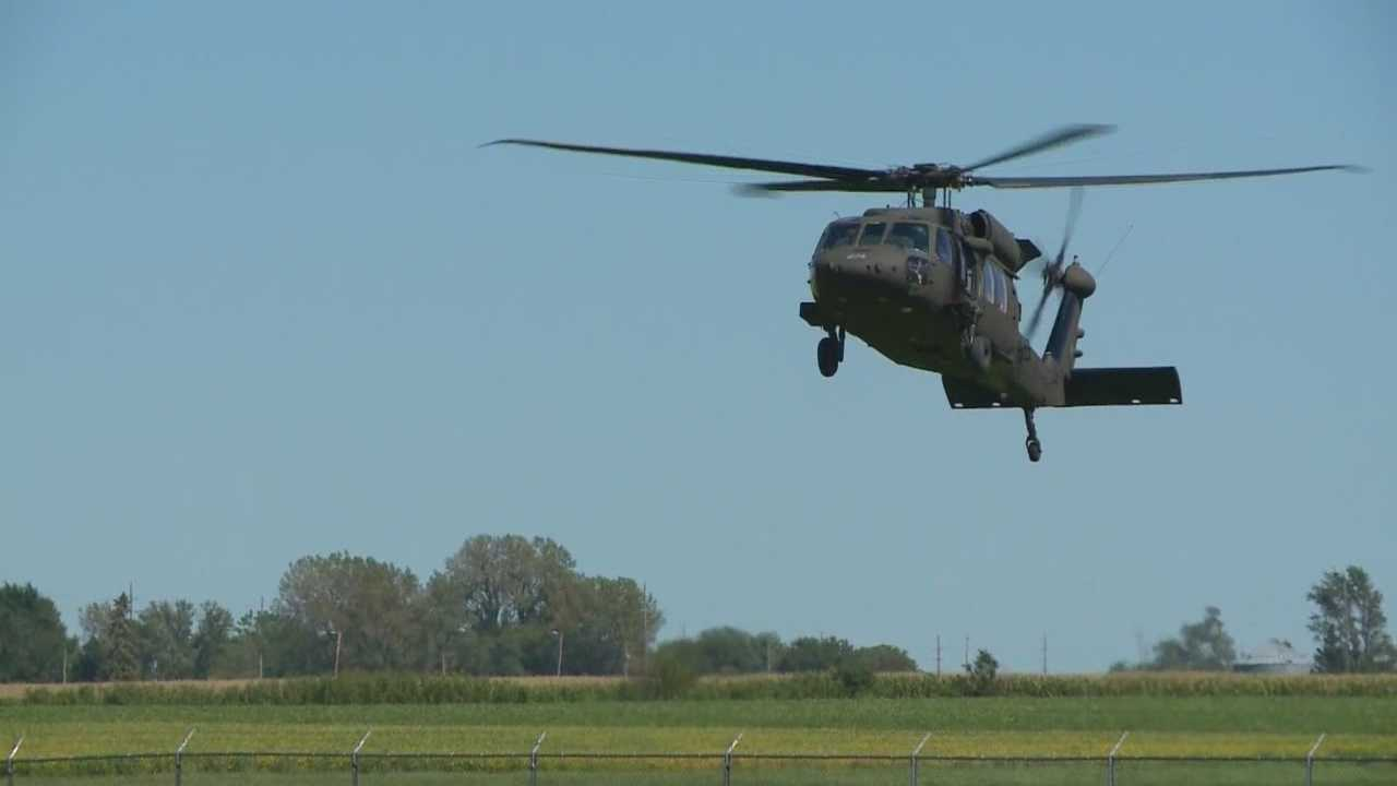 The Iowa National Guard may move the Black Hawk Helicopters from Boone to the Des Moines Airport, according to officials