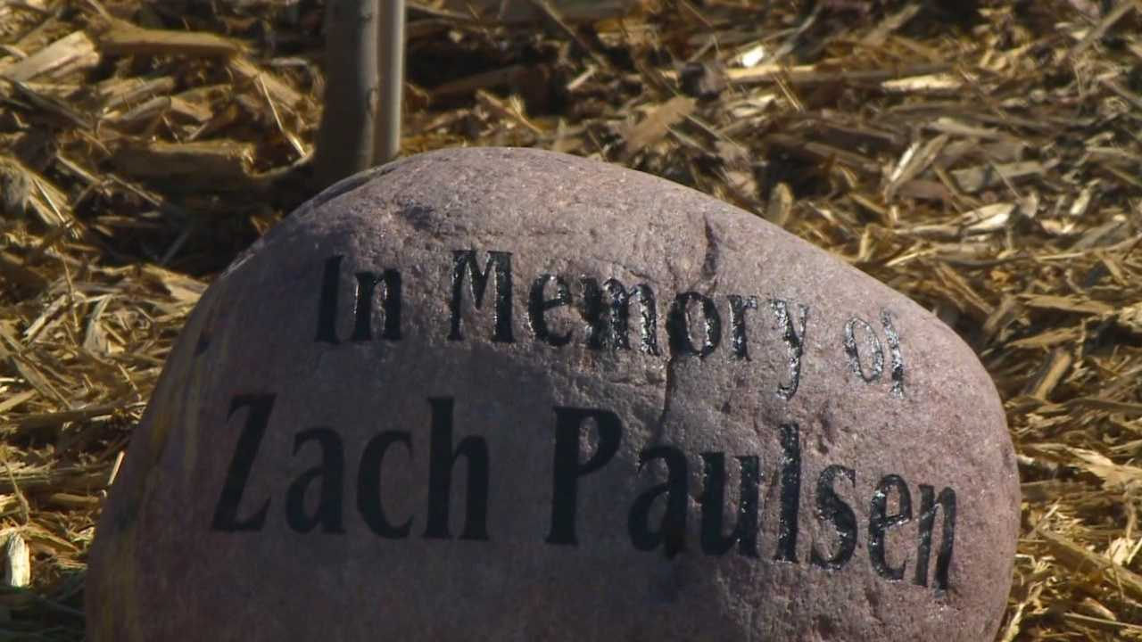 The parents of murder victim Zachary Paulsen said the sentencing of his killer brings a sense of closure as they spent the day celebrating the life of their only child.