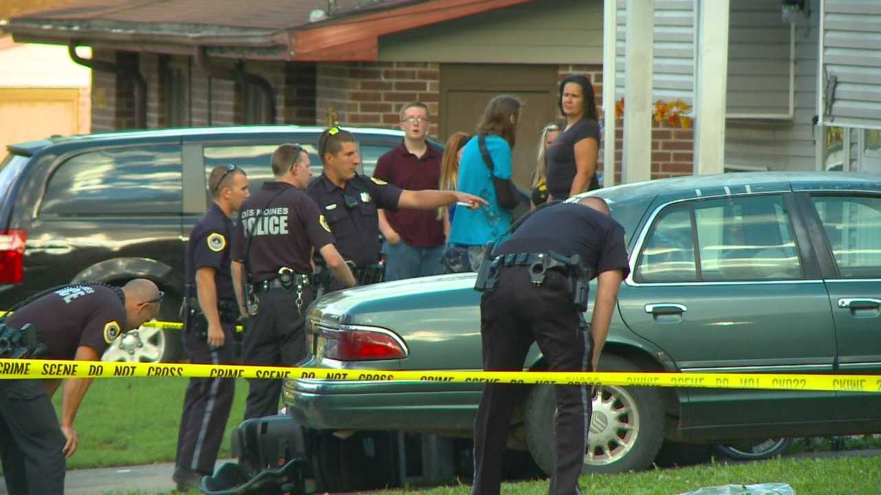 Members of the Des Moines community are shaken after two shootings have left three people dead in just one day.