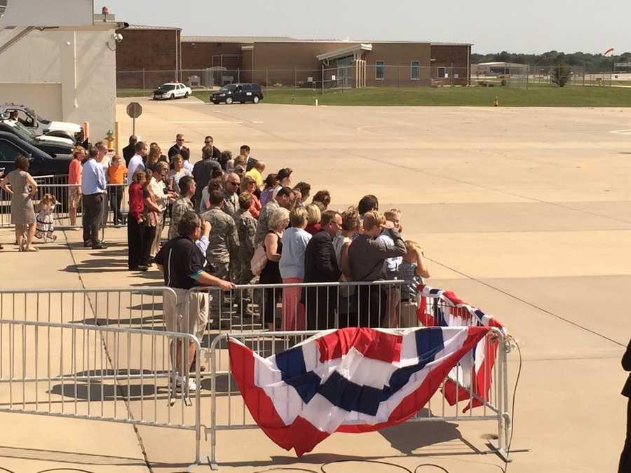 Waiting for President Obama