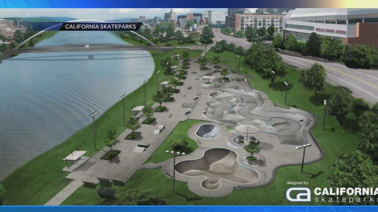 City officials approved the site for the $3.5 million skate park in 2012, hoping it would become a safe place for local skaters, a venue for competitions and also serve as a tourist attraction.