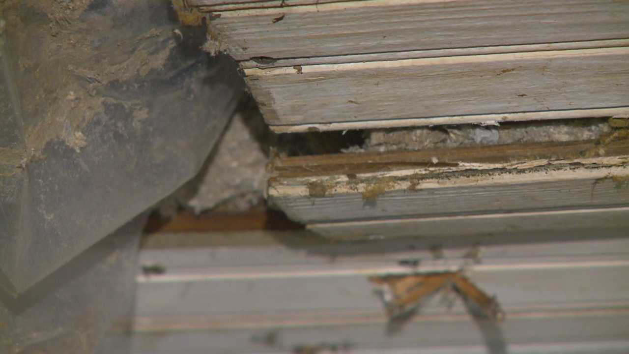 A Des Moines family is displaced from their home and faces $30,000 in damages after it flooded twice in two weeks.