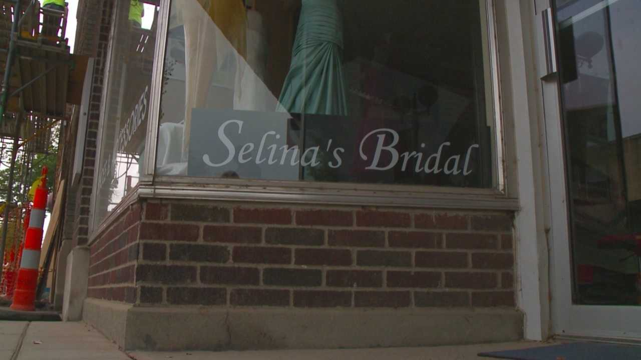 A bridal shop owner in Urbandale says Selina Orman of Selina's Bridal Shop in Valley Junction, who abandoned dozens of brides, is working to transfer her customers