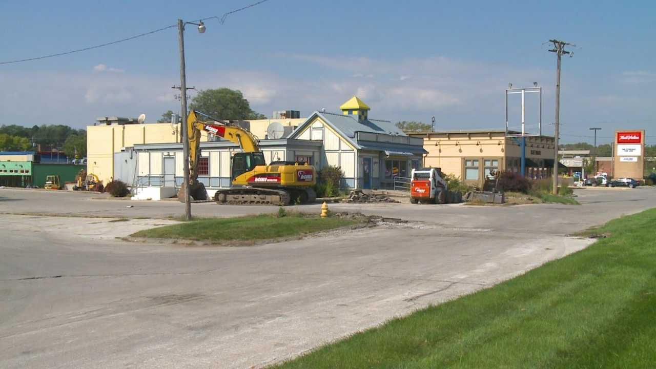 A West Des Moines eyesore is ready to be knocked down, making room for one of three new development projects.