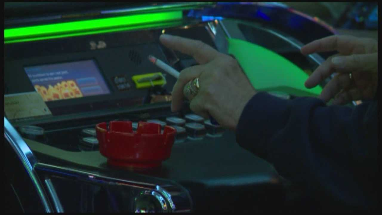 While some casino-goers are on board with a smoking ban, others say it would hurt business.