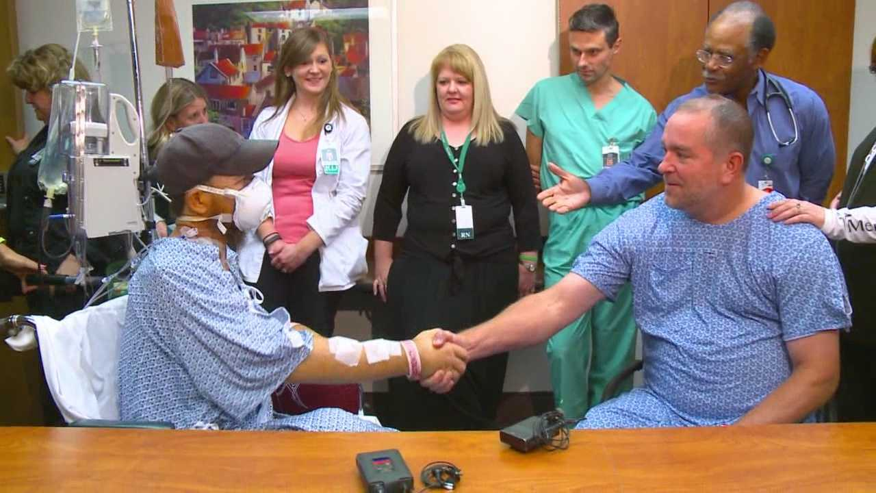 An Iowa man waited eight years for an extremely rare kidney match.